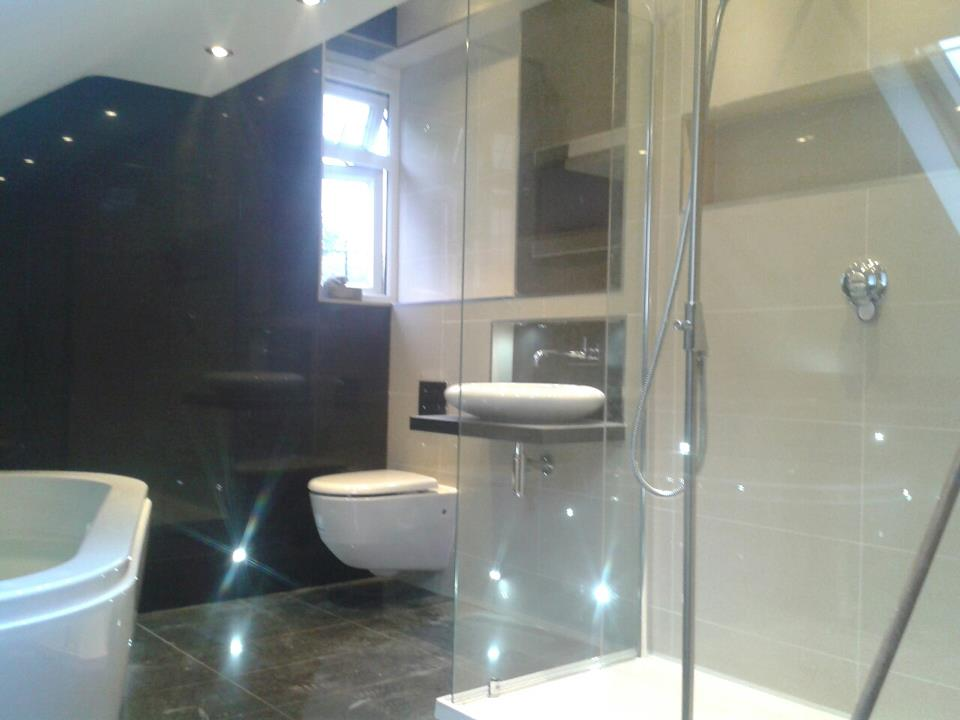 LED Lighting in Luxury Bathroom Fit Rugby