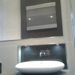 Bath Safe TV installation