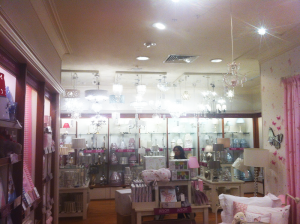 Retail Lighting for Laura Ashley in Leamington, Rugby and Stratford Upon Avon